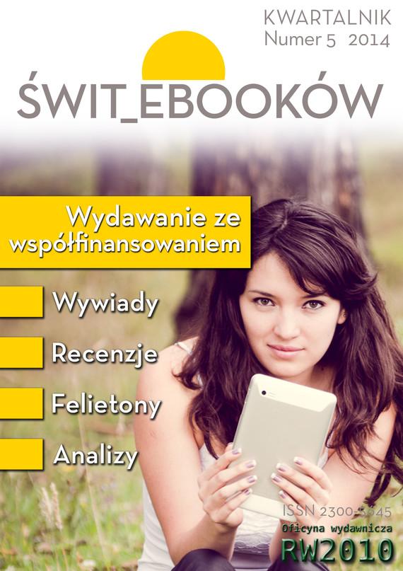 okładka Świt ebooków nr 5, Ebook | Praca Zbiorowa