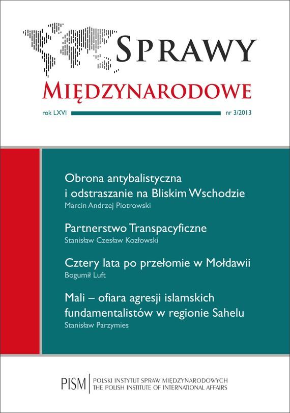 okładka Sprawy Międzynarodowe 3/2013, Ebook | Praca Zbiorowa