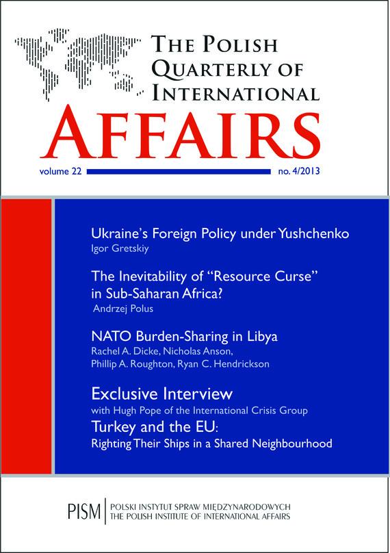 okładka The Polish Quarterly of International Affairs 4/2013, Ebook | Praca Zbiorowa