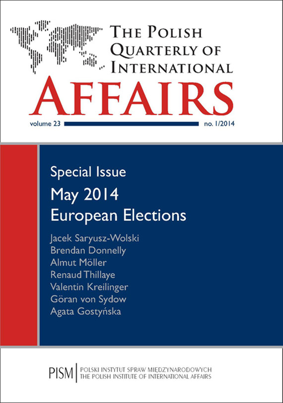 okładka The Polish Quarterly of International Affairs 1/2014, Ebook | Praca Zbiorowa