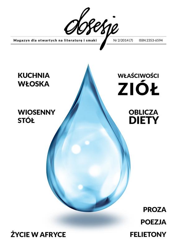 okładka Obsesje. Magazyn dla otwartych na literaturę i smaki  Nr 2/2014, Ebook | Opracowanie zbiorowe