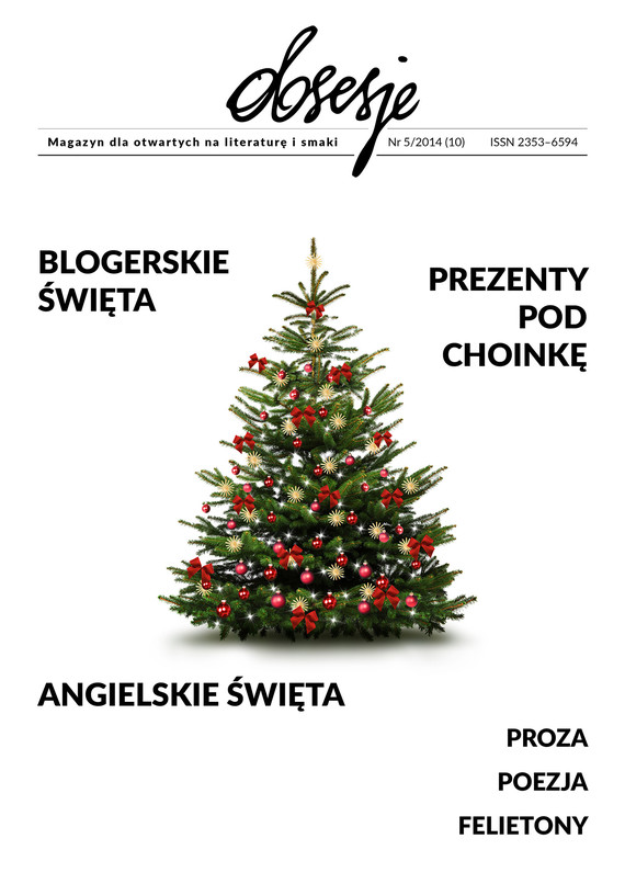 okładka Obsesje. Magazyn dla otwartych na literaturę i smaki  Nr 5/2015, Ebook | Opracowanie zbiorowe