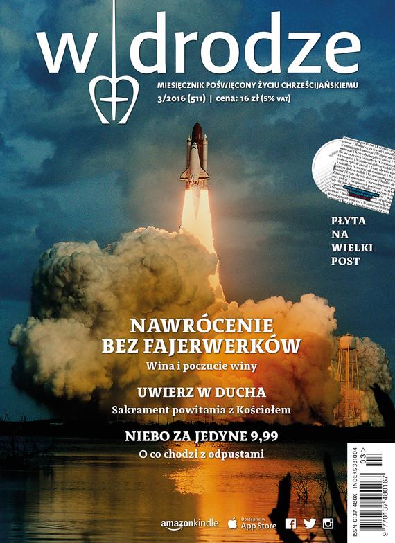 okładka Miesięcznik W drodze nr 3/2016ebook | epub, mobi | autor zbiorowy