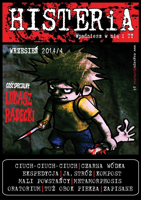 okładka Magazyn Histeria  2014/4 PDF, Ebook   autor zbiorowy