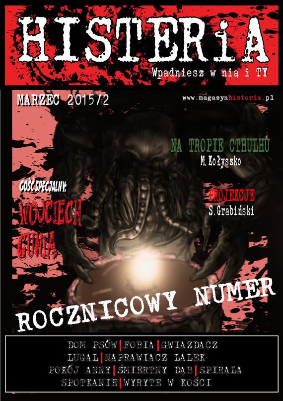 okładka Magazyn Histeria  2015/2 PDF, Ebook   autor  zbiorowy
