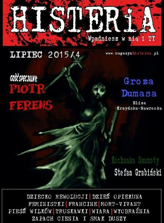 okładka Magazyn Histeria  2015/4, Ebook   autor  zbiorowy