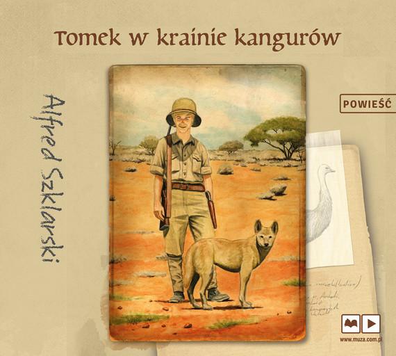 okładka Tomek w krainie kangurówaudiobook | MP3 | Alfred Szklarski