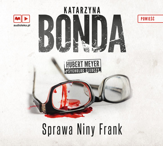okładka Sprawa Niny Frank, Audiobook | Katarzyna Bonda