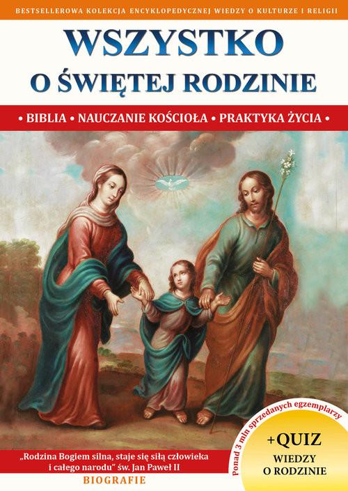 okładka Wszystko o świętej rodzinie, Książka | Molka Jacek
