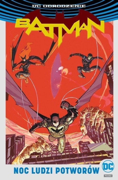 okładka Batman Noc Ludzi Potworów, Książka | James IV Tynion, Tim Seeley, Tom King, Orland