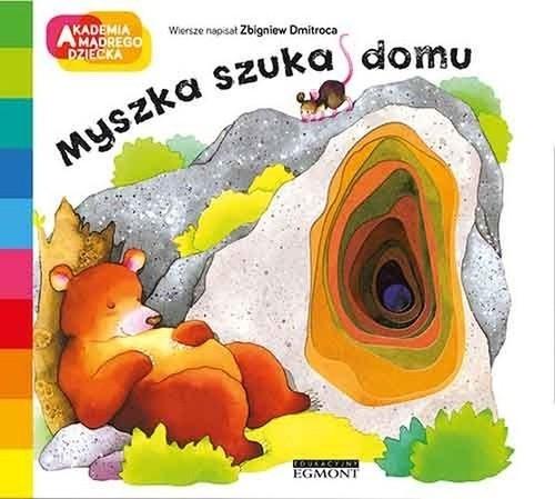 okładka Myszka szuka domu, Książka | Dmitroca Zbigniew