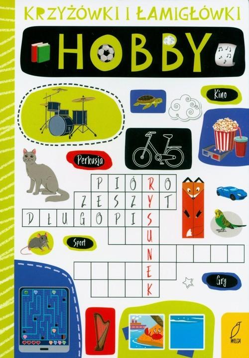 okładka Krzyżówki łamigłówki Hobby, Książka |