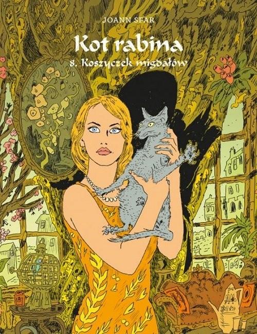 okładka Kot rabina 8 Koszyczek migdałów, Książka | Sfar Joann