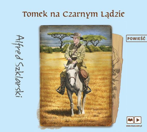 okładka Tomek na Czarnym Lądzie, Audiobook | Alfred Szklarski