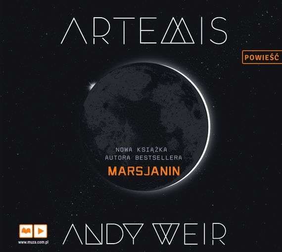okładka Artemis, Audiobook | Andy  Weir