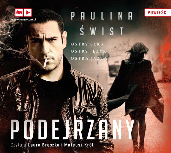 okładka Podejrzanyaudiobook | MP3 | Paulina Świst