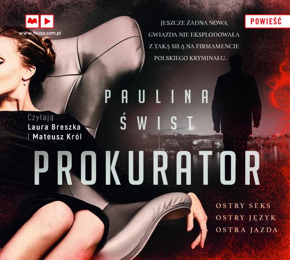 okładka Prokuratoraudiobook   MP3   Paulina Świst