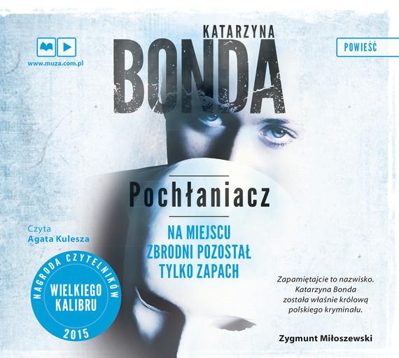 okładka Pochłaniaczaudiobook | MP3 | Katarzyna Bonda