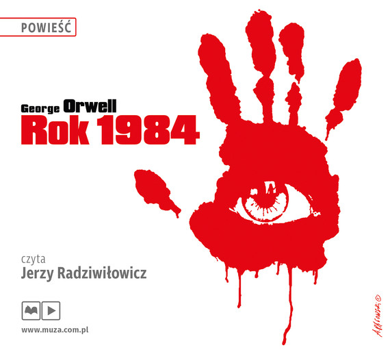 okładka Rok 1984, Audiobook | George Orwell