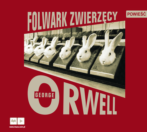 okładka Folwark zwierzęcy, Audiobook | George Orwell