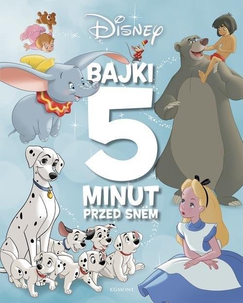 okładka Klasyka Disneya. Bajki 5 minut przed snem, Książka | Ewa Karwan-Jastrzębska, Anna Niedźwiecka