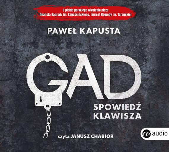 okładka Gad. Spowiedź klawiszaaudiobook | MP3 | Paweł Kapusta