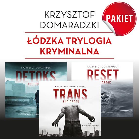 okładka pakiet Krzysztof Domaradzki (mp3), Audiobook | Krzysztof Domaradzki