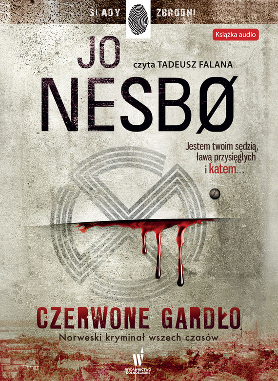 okładka Czerwone Gardłoaudiobook | MP3 | Jo Nesbø