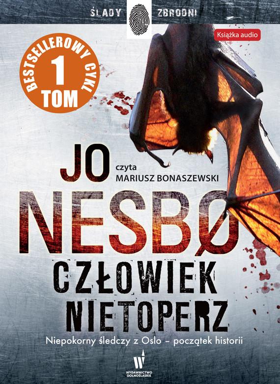okładka Człowiek nietoperz, Audiobook   Jo Nesbø