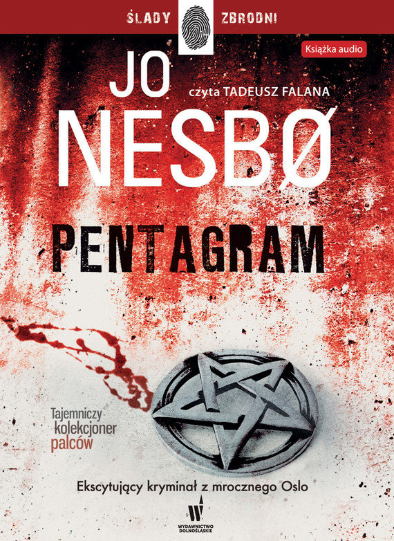 okładka Pentagram, Audiobook | Jo Nesbø
