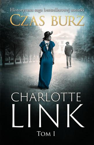 okładka Czas burz, Książka | Charlotte Link