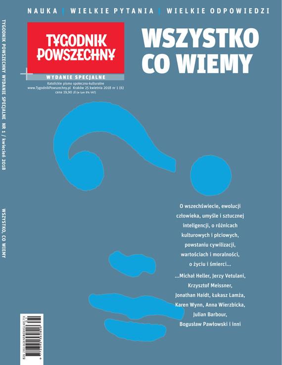 okładka Tygodnik Powszechny Wydania Specjalne Wszystko co wiemy, Ebook | Opracowanie zbiorowe
