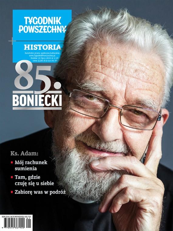 okładka Tygodnik Powszechny Historia 85.BONIECKI, Ebook | Opracowanie zbiorowe, Adam  Boniecki