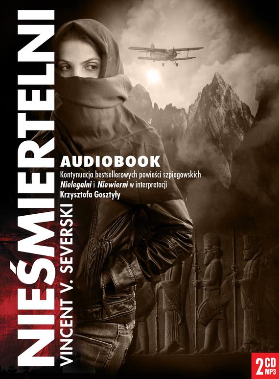 okładka Nieśmiertelniaudiobook | MP3 | Vincent V. Severski