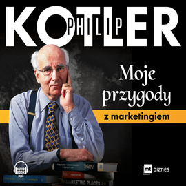 okładka Moje przygody z marketingiemaudiobook | MP3 | Philip Kotler