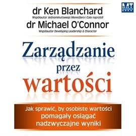 okładka Zarządzanie przez wartości, Audiobook | Ken Blanchard