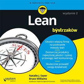 okładka Lean dla bystrzaków. Wydanie II, Audiobook   J. Sayer Natalie