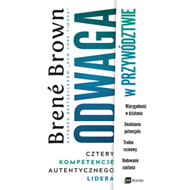 okładka Odwaga w przywództwie, Audiobook | Brené Brown
