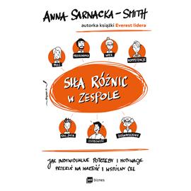 okładka Siła różnic w zespoleaudiobook | MP3 | Anna Sarnacka-Smith