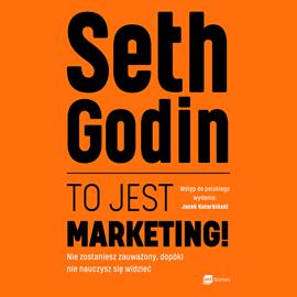 okładka To jest marketing!, Audiobook | Godin Seth