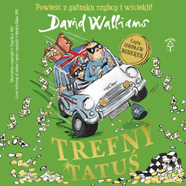 okładka Trefny Tatuśaudiobook | MP3 | David  Walliams