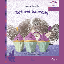 okładka Różowe babeczki, Audiobook   Joanna Jagiełło