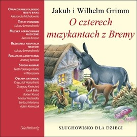 okładka O czterech muzykantach z Bremyaudiobook | MP3 | Michalowska Aleksandra