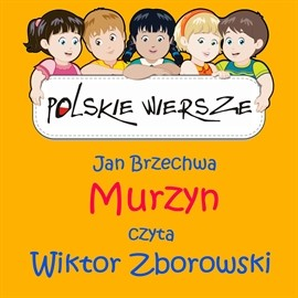 okładka Polskie wiersze - Murzynaudiobook | MP3 | Jan Brzechwa
