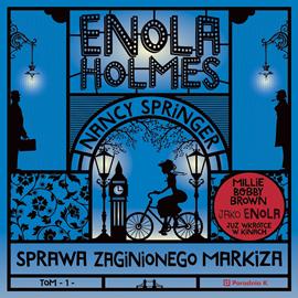 okładka Enola Holmes. Sprawa zaginionego markiza, Audiobook | Springer Nancy