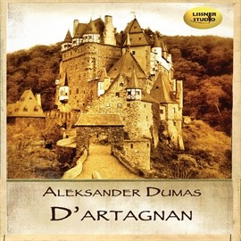 okładka D'artagnanaudiobook | MP3 | Aleksander  Dumas