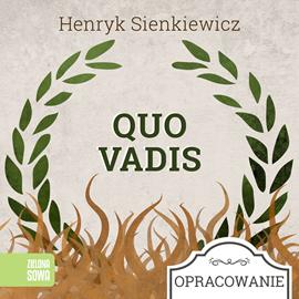 okładka Quo vadis-opracowanie lektury, Audiobook   Henryk Sienkiewicz