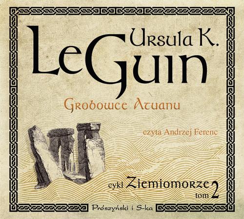 okładka Grobowce Atuanu, Audiobook | Ursula K. Le Guin