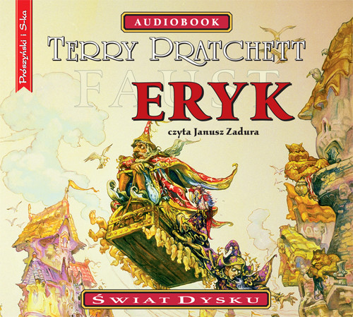 okładka Erykaudiobook | MP3 | Terry Pratchett