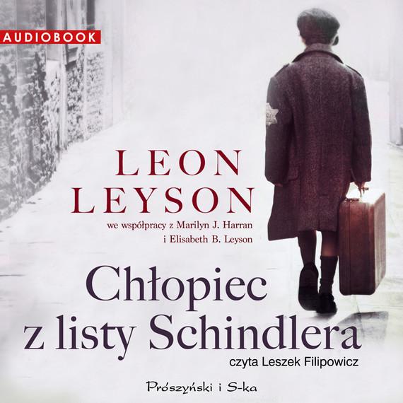okładka Chłopiec z listy Schindlera, Audiobook   Leon Leyson